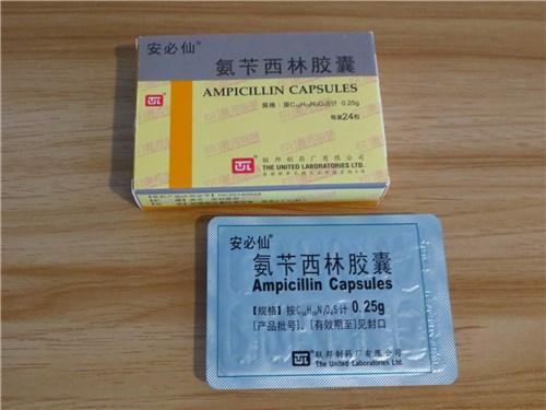 中国のアンピシリン